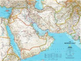 Affordable Maps of The Middle East Posters for sale at