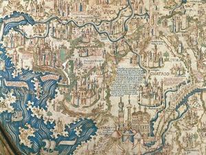 Map of China, 1449