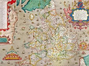 Map of England and Wales, 1579