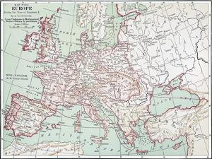 Map Of Europe, C1812