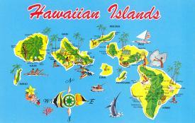 Affordable Maps of Hawaii Posters for sale at AllPosters.com
