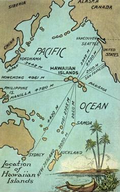 Map of Hawaii