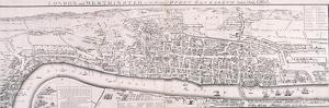 Map of London, 1789 Representing Elizabethan London