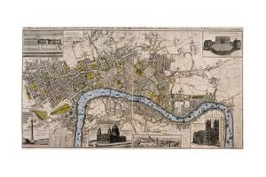 Map of London, 1798