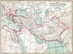 Map Of Macedonian Empire