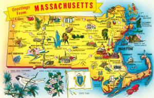 Map of Massachusetts