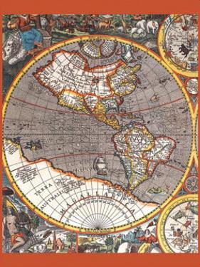 Map of North America II