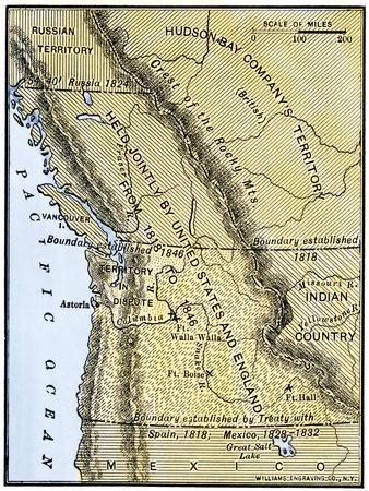 Maps Of Oregon Posters At AllPosterscom - Map of us oregon