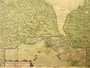 Map of Panama, 1744