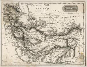 Map of Persia
