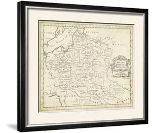 Map of Poland by T Jeffreys