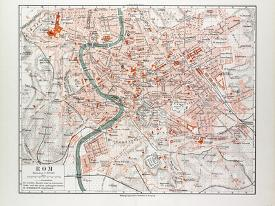 Affordable Maps of Rome Posters for sale at AllPosters.com