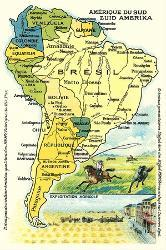 Affordable maps of south america art print for sale at allposters map of south america freerunsca Images