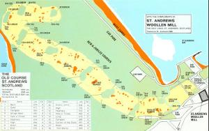 Map of St. Andrews Golf Course