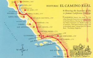 Mission Posters At AllPosterscom - California missions map
