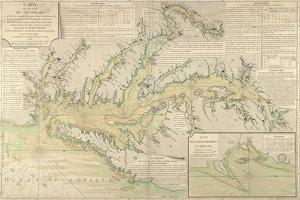 Map of the Chesapeake Bay, 1778