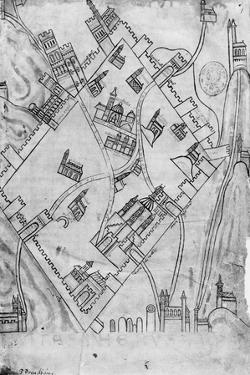 Map of the City of Jerusalem, before 1167