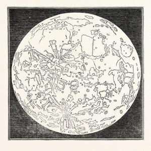 Map of the Moon 1833