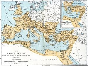Map of the Roman Empire, 2nd Century Ad