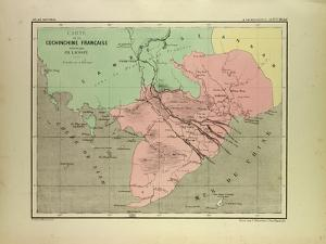 Map of the South of Vietnam and Cambodia