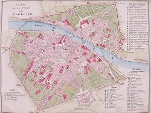 Map of the Town of Florence, 1812