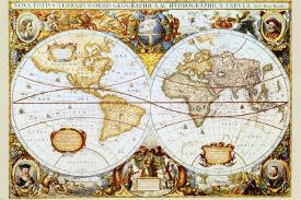 Affordable Antique Map Posters For Sale At Allposters Com