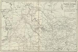 Map of Turkistan