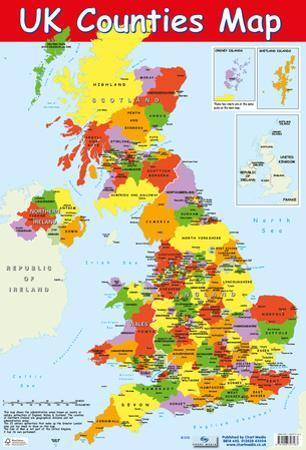 Map Of UK Counties