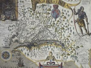 Map of Virginia: Inset