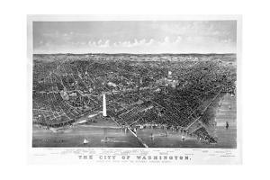 Map of Washington D. C.