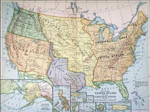 Map: U.S. Expansion, 1905