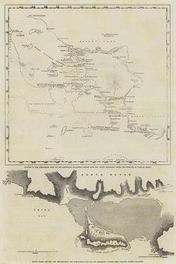 Maps of the Discoveries Made During the Arctic Expedition
