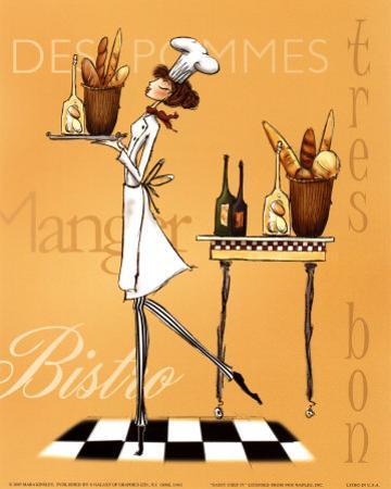Sassy Chef IV by Mara Kinsley