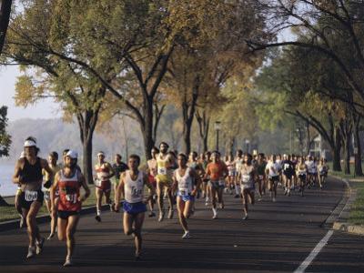 Marathon Race Minneapolis Minnesota, USA