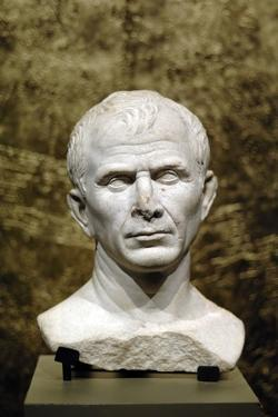 Marble Bust of Julius Caesar from the Rhone River