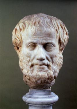 Marble Head of Aristotle (384-322 BC )