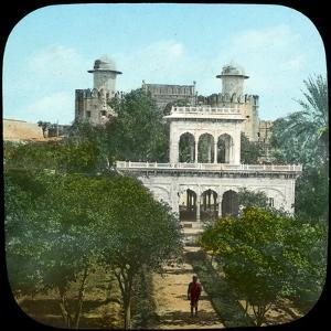 Marble Pavilion in the Fort Gardens, Lahore, India, Late 19th or Early 20th Century