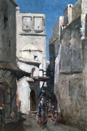 Street in Algiers, C1864-1892
