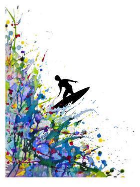 A Pollock's Point Break by Marc Allante