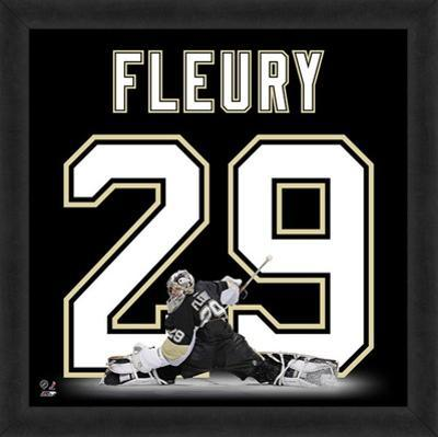 Marc-Andre Fleury, Penguins representation of the player's jersey