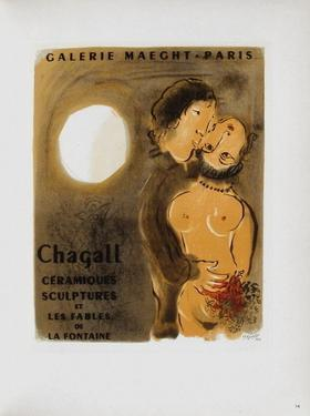AF 1952 - Galerie Maeght by Marc Chagall