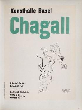 AF 1953 - Kunsthalle Basel by Marc Chagall