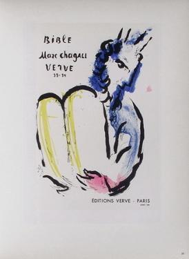 AF 1956 - Bible Verve by Marc Chagall