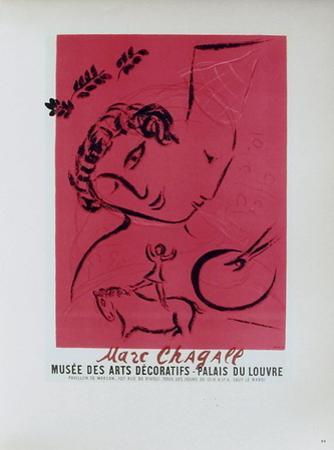 AF 1959 - Musée Des Arts Décoratifs by Marc Chagall
