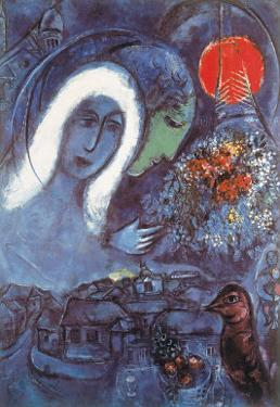 Champs de Mars by Marc Chagall
