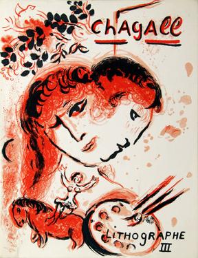 Cover from Lithographe III by Marc Chagall