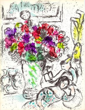Cover-Frontispiece by Marc Chagall