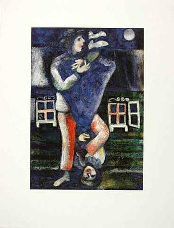 Der Spaziergang by Marc Chagall