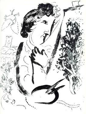 Devant le Tableaur by Marc Chagall