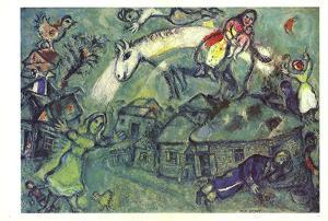 DLM No. 182 Pages 12,13 by Marc Chagall